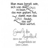 Clear Stamp Set - Augenblick