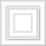Stitched Square Frames - Your Next Stamp Dies