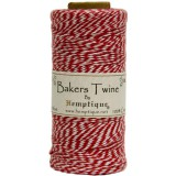 Bakers Twine Spool - Red / White