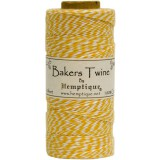 Bakers Twine - Yellow / White