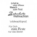 Clear Stamp Set - Weihnachten 10