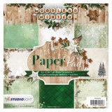 Designpapier - Block 55 Woodland Winter 15,2x15,2