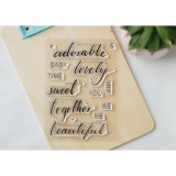 Adorable - Clear Stamp Set