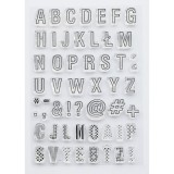 Alphabet - Clear Stamps Studio Forty