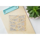Always Smile - Clear Stamp Set