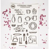Cooking Time - transparent stickers
