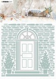 Studio Light Embossing Folder With Die Cut, Winter