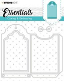 Studio Light Embossing Die Cut Stencil Essentials