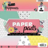 Studio Light Paper Pad Create Happiness 15x15 cm