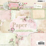 Studio Light Paper pad Lovely Moments nr. 123
