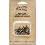 Hex Fasteners - Antique Mix von Tim Holtz