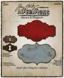 Tim Holtz - Styled Labels Movers&Shapers Dies