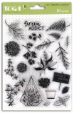 Feuilles et Feuillage - Clear Stamp Set
