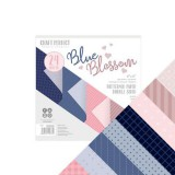 Tonic Studios Craft P. 6x6 Paper Pack Blue Blossom