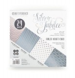 Tonic Studios Craft Paper Pad 6x6 silver jubilee -