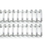 Cinch Wires - silver 1 inch